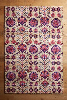 Hand-Knotted Hyde Park Rug