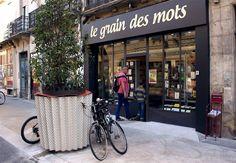 Le Grain des Mots ( Montpellier, France) Montpellier, Coin, France, Store, Bookstores, Larger, Shop, French