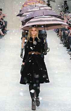 burberry sure knows how to make snow pretty