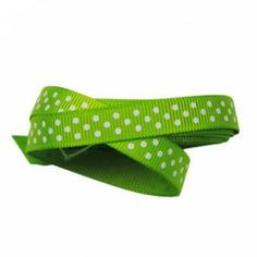 The Party Cupboard : 9mm Lime Green Polka Dot Grosgrain Ribbon : Lime Green Polka Dot Party Ribbon : Lime Green Polka Dot Giftwrap Ribbon : Lime Green Polka Dot Ribbon $0.50 / m  (The Party Cupboard) www.thepartycupboard.com.au