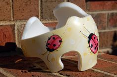 Ladybug Cranial Band DOC Band  https://www.facebook.com/pages/Cranial-BandsMurals-by-Leigh-Gibson/153150921414230