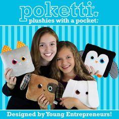 Poketti Plushies with a Pocket