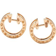 B.zero1 Earrings ($2,450) ❤ liked on Polyvore featuring jewelry, earrings, bulgari earrings, bulgari jewellery, bulgari jewelry, bulgari and earring jewelry