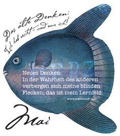"""Calendarium - Komplexität meistern: MAI Blatt """"Die Wahrheit der anderen Menschen ..."""" Wallner & Schauer GmbH, Web: trainthe8.com Blog: hpwallner.at"""