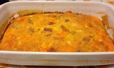 Frittata morbida con salame felino (ricetta piatto unico)