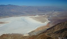 Badwater Basin from Dante's View, Death Valley National Park, CA