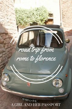 Experience Italy like a local and take a 5-day road trip from Rome to Florence, Italy. Read my recommendations on what towns to see and what sights to see.