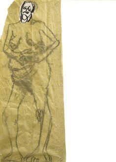 Autora: Victoria Fontana. Grafito sobre papel. 50x35 cm. Realizado en Estudio Arjona Madrid