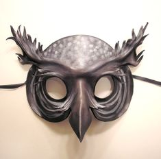deviantART: More Like Leather Gopat Mask brown with black and tan by ~teonova