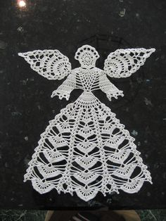 Crochet Angel from ravelry.com