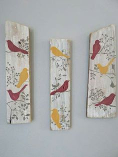 Learn more about Rustic Chook Signal Nation Birds Portray Shabby Stylish Wall Decor Signal Wooden