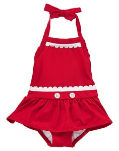 Gymboree Skirted One Piece Swimsuit
