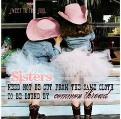 Sister and me