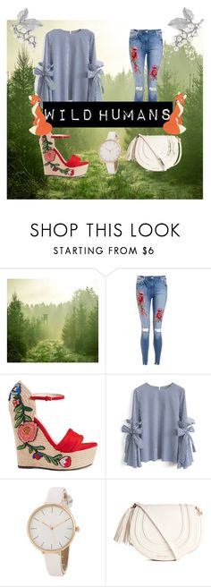 """Wild humans"" by marijana-vitas on Polyvore featuring Gucci, Chicwish, Disney and Susan Caplan Vintage"