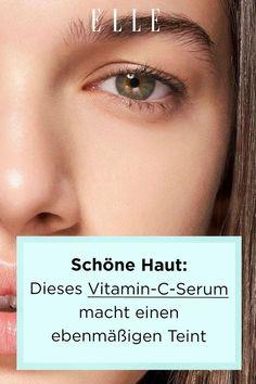 Nie wieder Make-up? Dieses hochkonzentrierte Vitamin-C-Serum verbessert den Hautton, sorgt für einen strahlenden Teint und schöne Haut! #vitaminc #haut #skin #beauty #serum