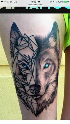 I'm looking to get a tattoo done. I have this picture that I attached of it. The left sides just lines and the right side is realistic. I'm hoping you can do the whole face but only using lines so pretty much mirroring the left side to the right side.