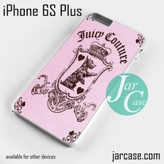 juicy couture pink Phone case for iPhone 6S Plus and other iPhone devices