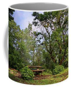 Green Serenity Coffee Mug by Ren Kuljovska.  Small (11 oz.) Mugs For Sale, Fine Art America, Serenity, Coffee Mugs, Tapestry, Ceramics, Green, Home Decor, Hanging Tapestry
