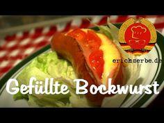 Gefüllte Bockwurst (von: erichserbe.de) - Essen in der DDR: Koch- und Backrezepte für ostdeutsche Gerichte | Erichs kulinarisches Erbe