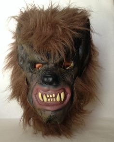 Vintage Don Post Studios Latex Wolfman Warewolf Wolf Man Monster Mask 2005