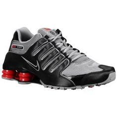 20ed4917c8d0 Nike Shox NZ - Men s - Sport Inspired - Shoes - Black Stealth Sport Red  Black