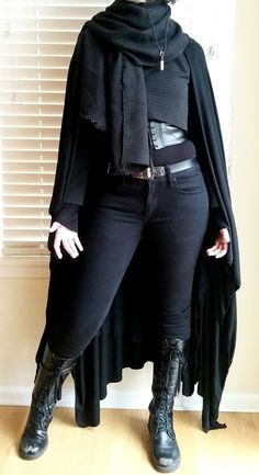 Another year on the job another Star Wars inspired outfit! - Ideas of Star Wars Outfits - Another year on the job another Star Wars inspired outfit! Dark Fashion, Gothic Fashion, Trendy Fashion, Fashion Outfits, Fashion Clothes, Modern Steampunk Fashion, Street Fashion, Punk Clothes, Diy Clothes