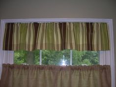 Home Collection Lenny Valance By Other Major Designers 19 99 Size 84 X 23 Color Red Striped Window Makes The Perfect Way To