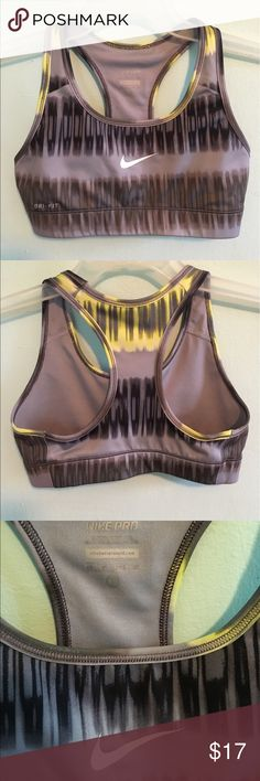 Nike pro sport bra Size XS . In excellent condition. Nike Intimates & Sleepwear Bras