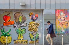 Funny #Street #Art #Milan #Italy
