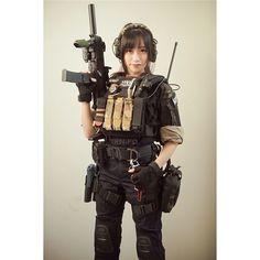 airsoftgun 武装娘 airsoftworld airsoft tacticalgirls airsoftgirl tmc gen3 gun guns trn tactical - Instagram(インスタグラム)の画像・動画