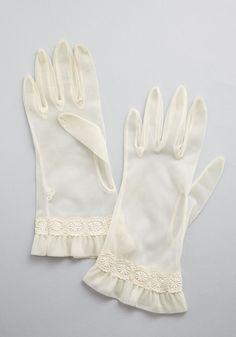 Vintage Threshold My Hand Gloves.   #modcloth