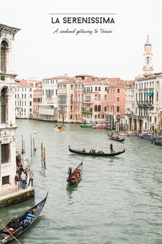 From Place To Space: Weekend Getaway To Venice