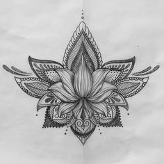 Lotus tattoo. Tattoos.