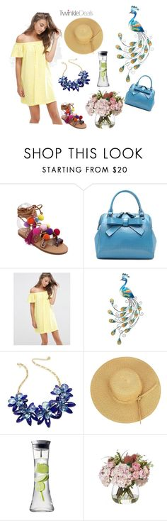 """summer"" by perfex ❤ liked on Polyvore featuring ASOS, WALL, Kate Spade and Menu"