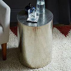 Martini Side Table - Metallics | west elm