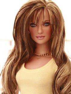 Doll ~ fantastic hair!