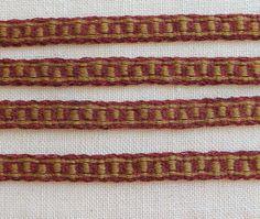 Tablet Weaving Card Weaving Medieval Trim Tablet Woven by inkleing
