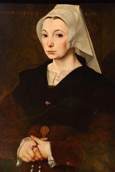 Portrait d'une jeune femme, 1541