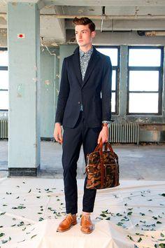 Ernest Alexander Colección primavera verano 2014 en New York Fashion Week.