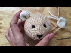 Đan Gấu (Knitting Bear )[Tai] (PHẦN 3) - YouTube Crochet Bear Patterns, Crochet Toys, Knitting Bear, Knitting Videos, Phan, Teddy Bear, Diy Crafts, Blog, How To Make