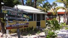 Top 5 beach bars in Grand Cayman, Cayman Islands.