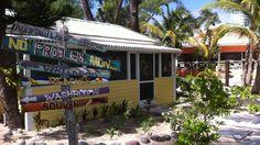 Top 5 beach bars in Grand Cayman, Cayman Islands.