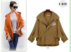 Vogue Women's Dolman Sleeve Hooded Coat on BuyTrends.com, only price $47.60