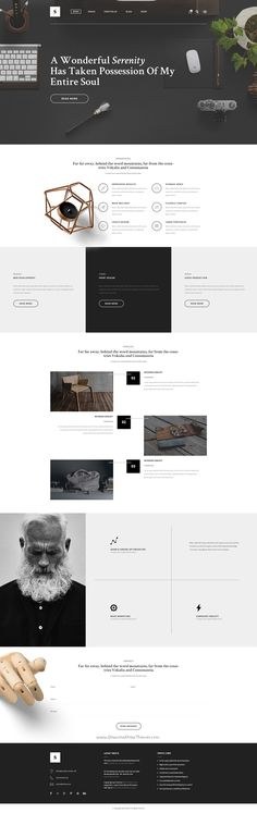 Solace is beautifully design #PSD #template for multipurpose website with 20…