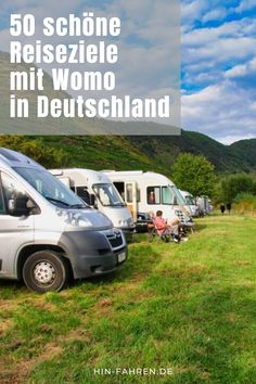 Destinations with a camper in Germany that not everyone knows Trailers Camping, Minivan Camping, Rv Campers, Travel Trailers, Camper Awnings, Spa, Campervan, Van Life, Recreational Vehicles