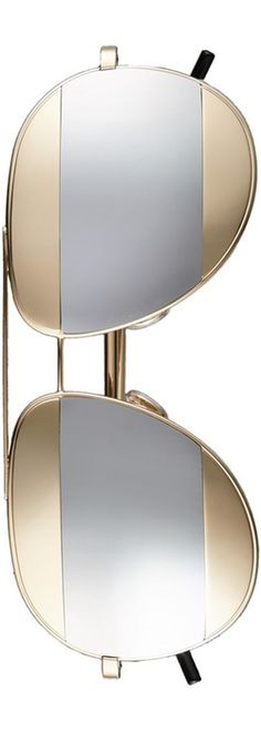 Christian Dior 'Split' 59mm Aviator Sunglasses