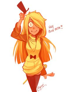 Fem! Bill Cipher<<im dressing up as female bill 4 summerween!!