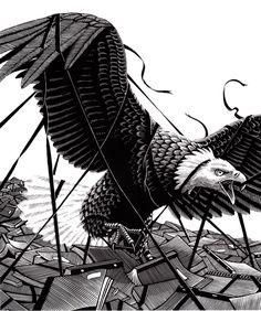 Águila, por Douglas Smith
