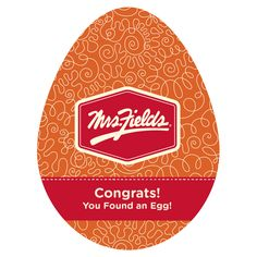 Congratulations you've found today's egg!!! Click below to be entered for a chance to win today's daily prize and a chance at a $2,500 Shopping Spree! #EggHunt   http://mrsfieldsegghunt.com/apron