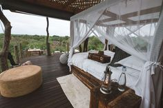 Staying at Lion Sands Ivory Lodge and Treehouses